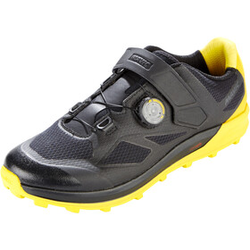 Mavic XA Pro Shoes Herr black/black/yellow mavic